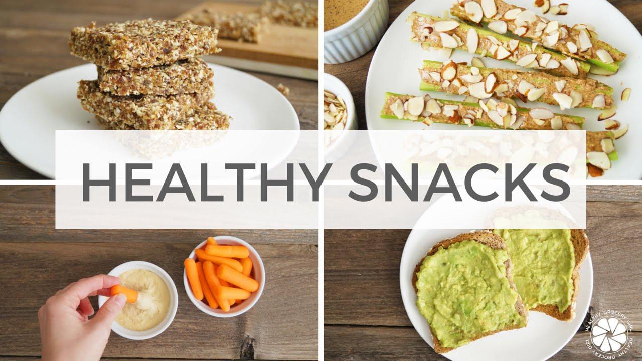 Healthy Vegan Snacks  4 Healthy Snack Ideas