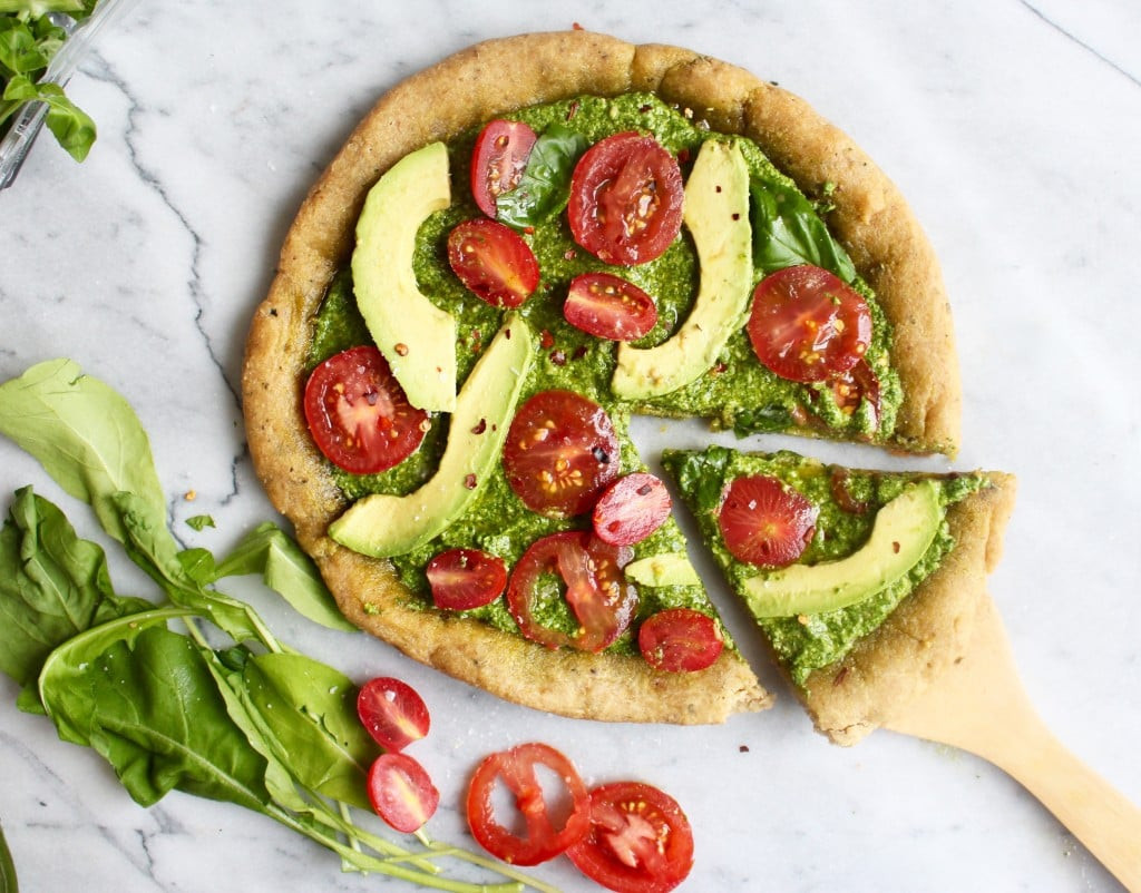 Healthy Vegan Snacks  Healthy Vegan Pizza Recipe