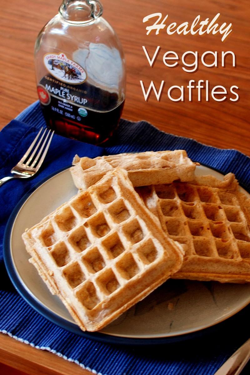 Healthy Vegan Waffles  Healthy Vegan Morning Waffles Recipe Go Dairy Free
