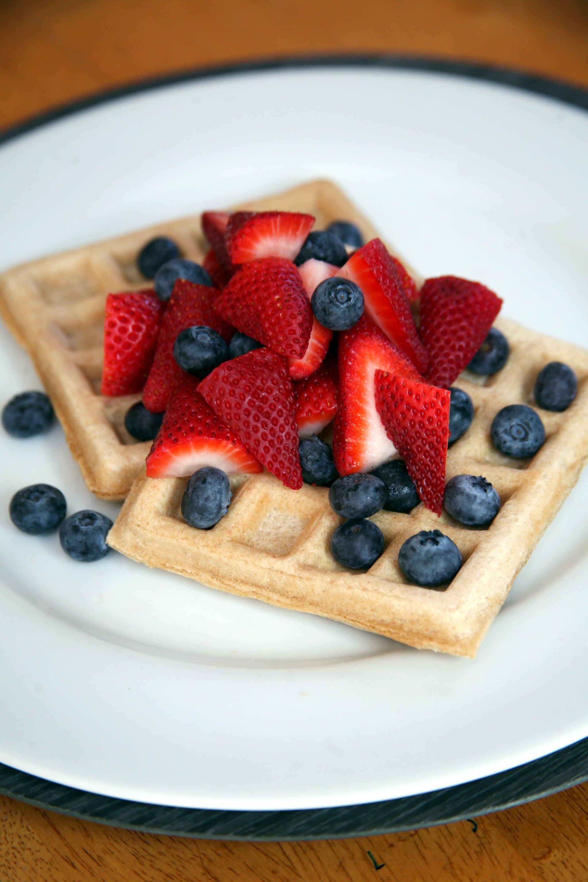 Healthy Vegan Waffles  Vegan Waffles