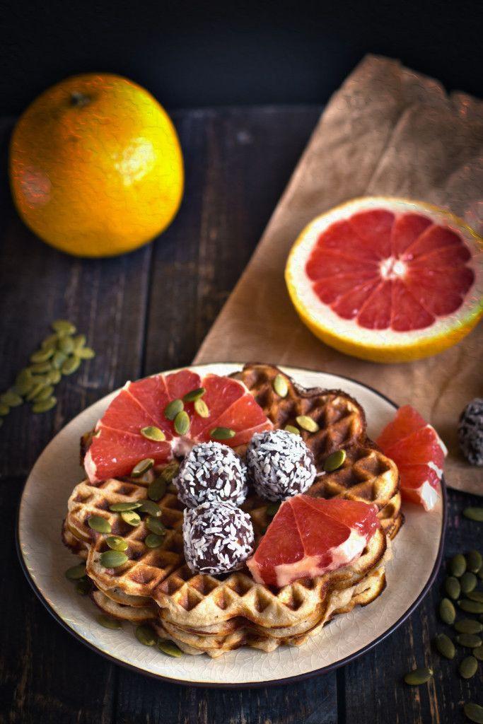 Healthy Vegan Waffles  Vegan Waffle Recipe