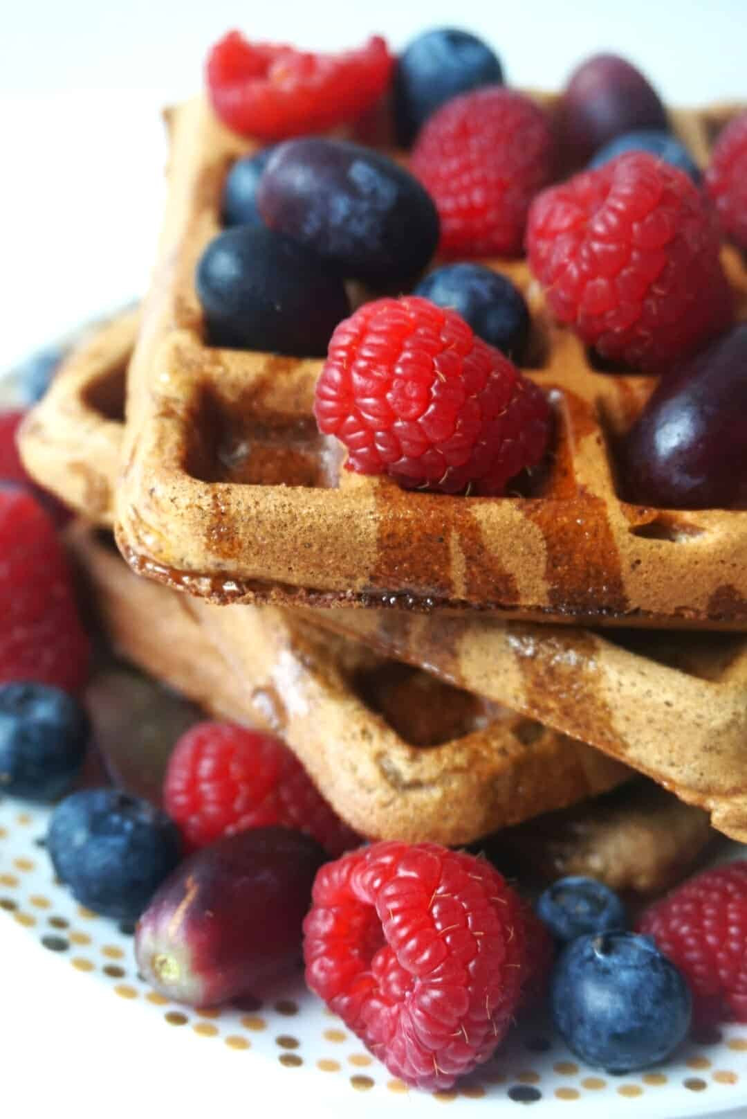 Healthy Vegan Waffles  3 Healthy Vegan Waffle Recipes you NEED in your life