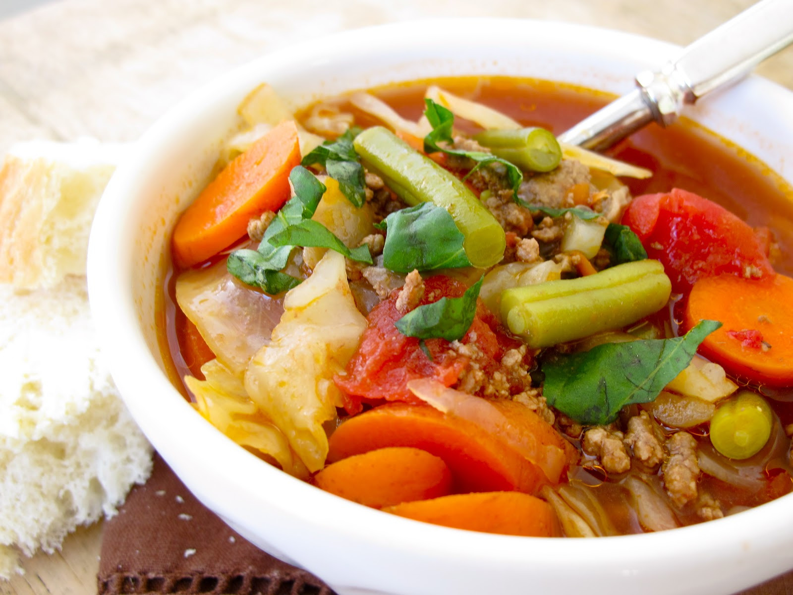 Healthy Vegetable Beef Soup  Jenny Steffens Hobick Ve able Beef Soup Recipe