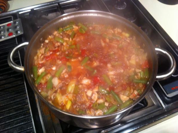 Healthy Vegetable Beef Soup  Quick And Healthy Ve able Beef Soup Low Carb And Ww