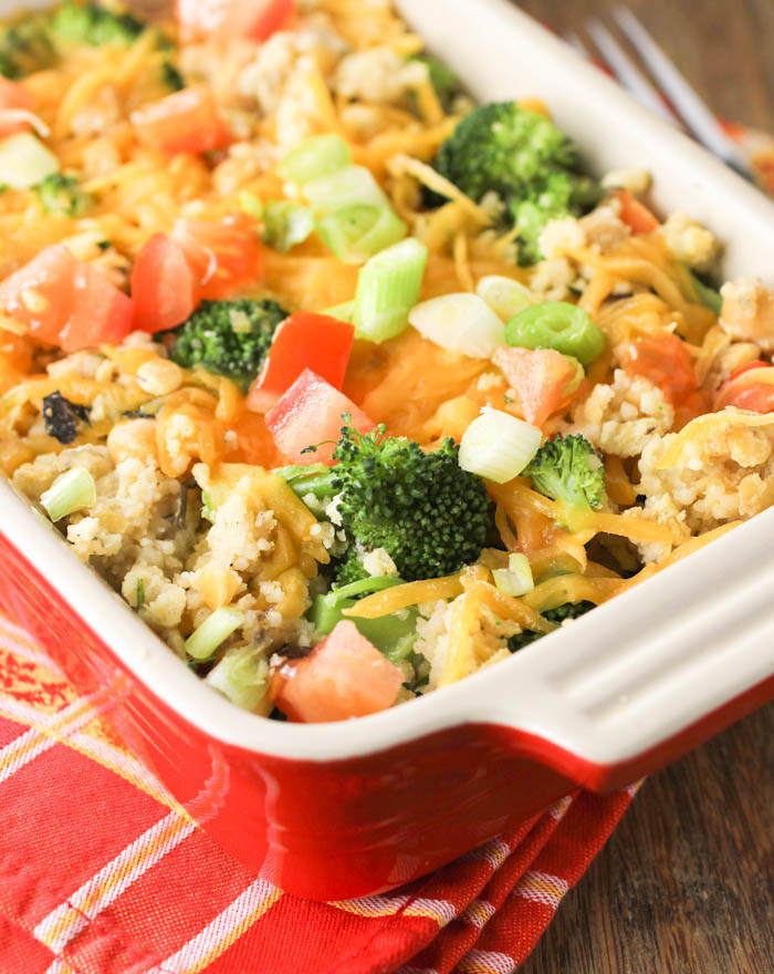 Healthy Vegetable Casserole  healthy chicken and ve able casserole