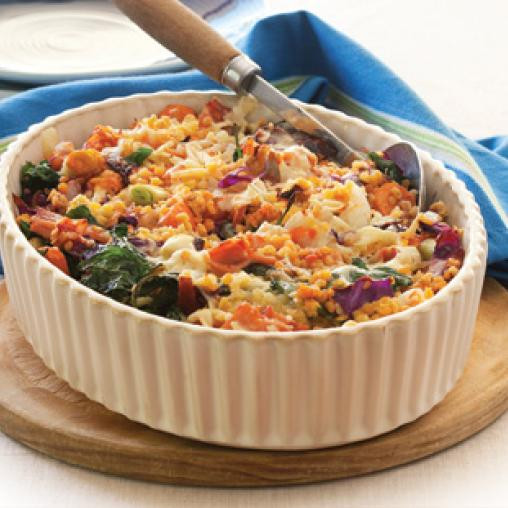 Healthy Vegetable Casserole  healthy mixed ve able casserole