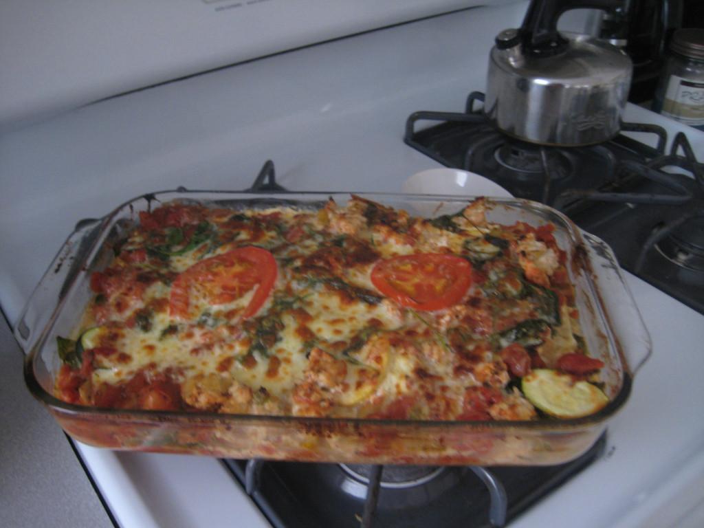 Healthy Vegetable Lasagna  Quick and Healthy… Turkey Ve able Lasagna