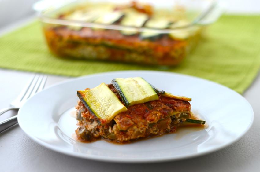 Healthy Vegetable Lasagna  Healthy Recipe for Ve able Lasagna