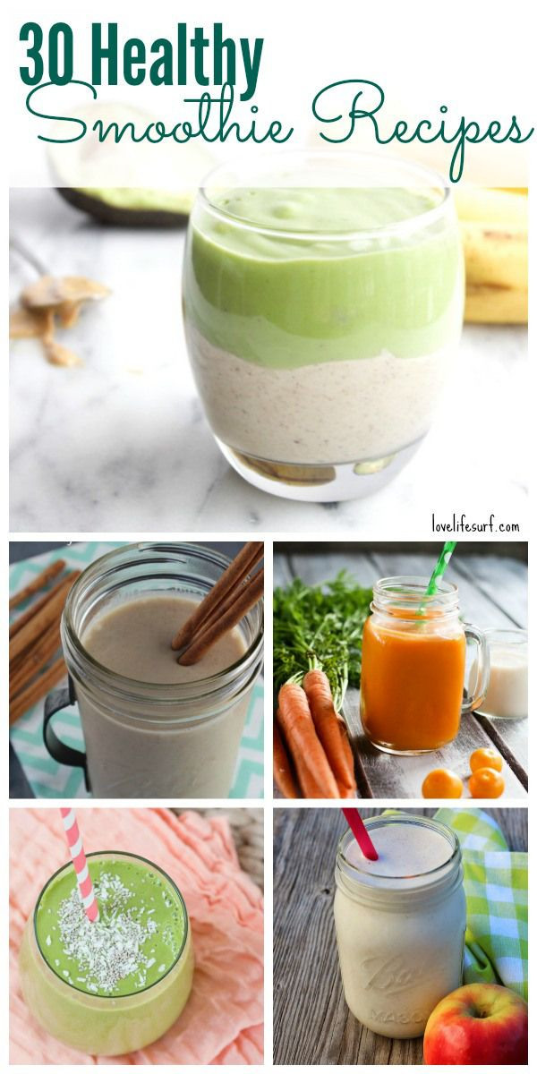 Healthy Vegetable Smoothie Recipes  282 best The Best of Love Life Surf images on Pinterest