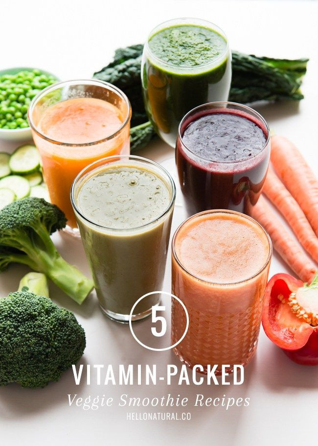 Healthy Vegetable Smoothie Recipes  Best 25 Ve able smoothie recipes ideas on Pinterest
