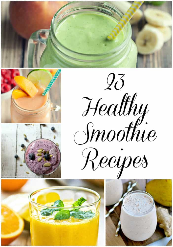 Healthy Vegetable Smoothie Recipes  23 Healthy Smoothie Recipes Love Pasta and a Tool Belt