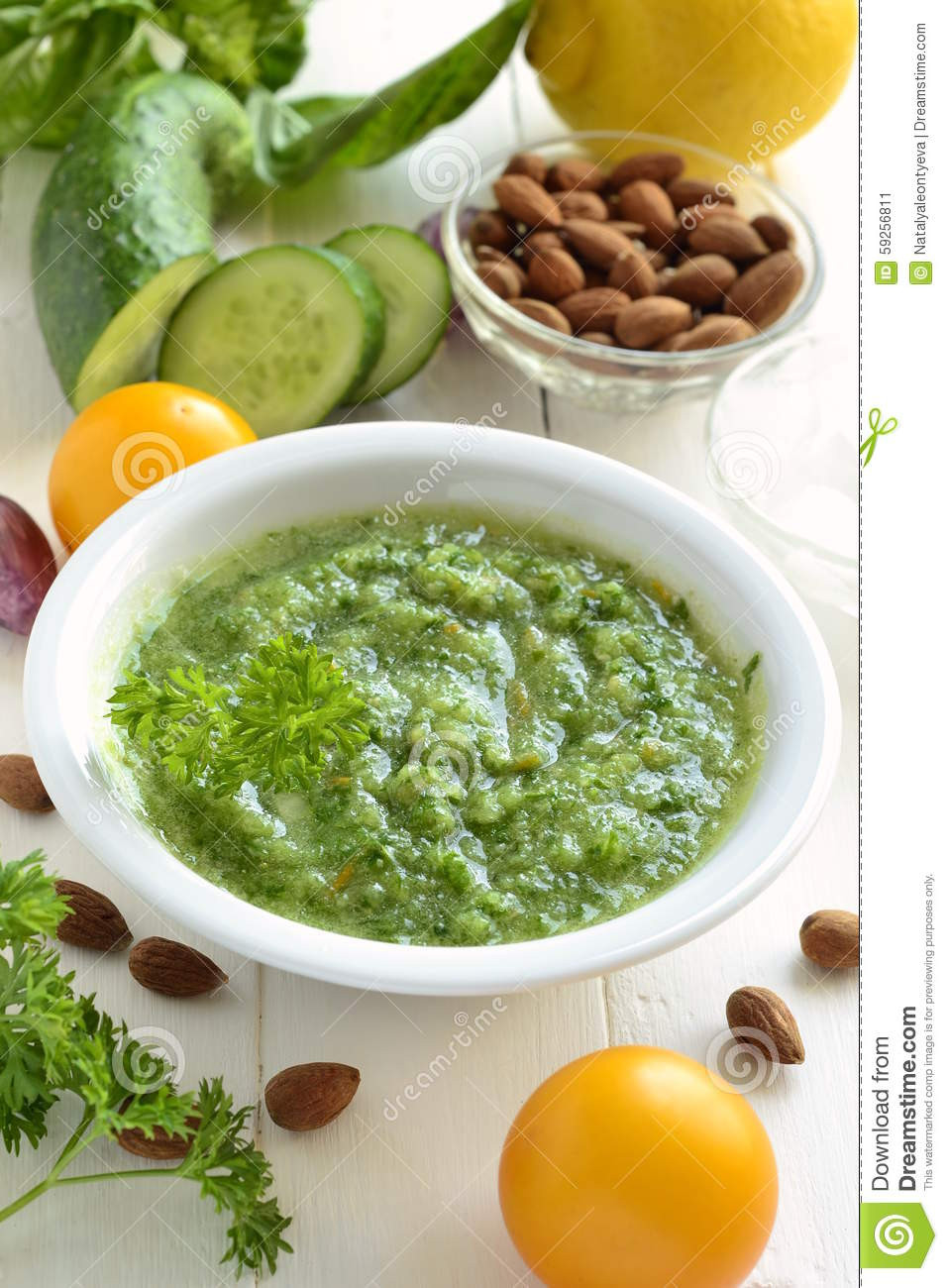 Healthy Vegetable Smoothies  Healthy Ve able Green Smoothies Stock Image
