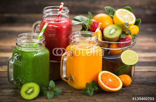 Healthy Vegetable Smoothies  Juice Posters & Wall Art Prints