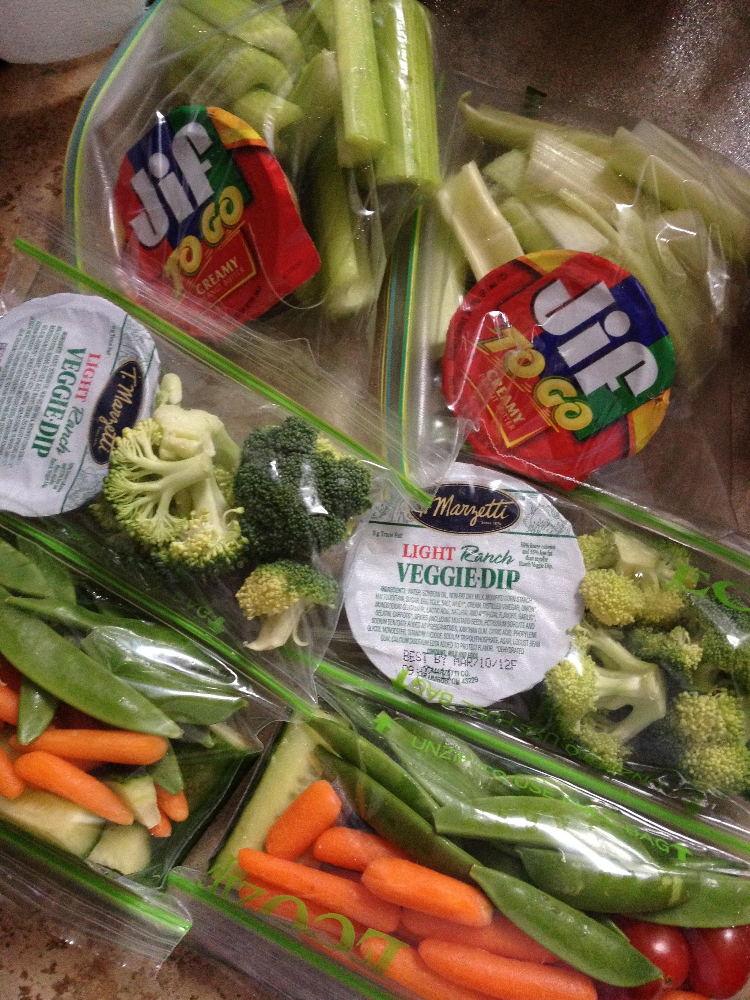 Healthy Vegetable Snacks  Healthy Veggie Snack Packs