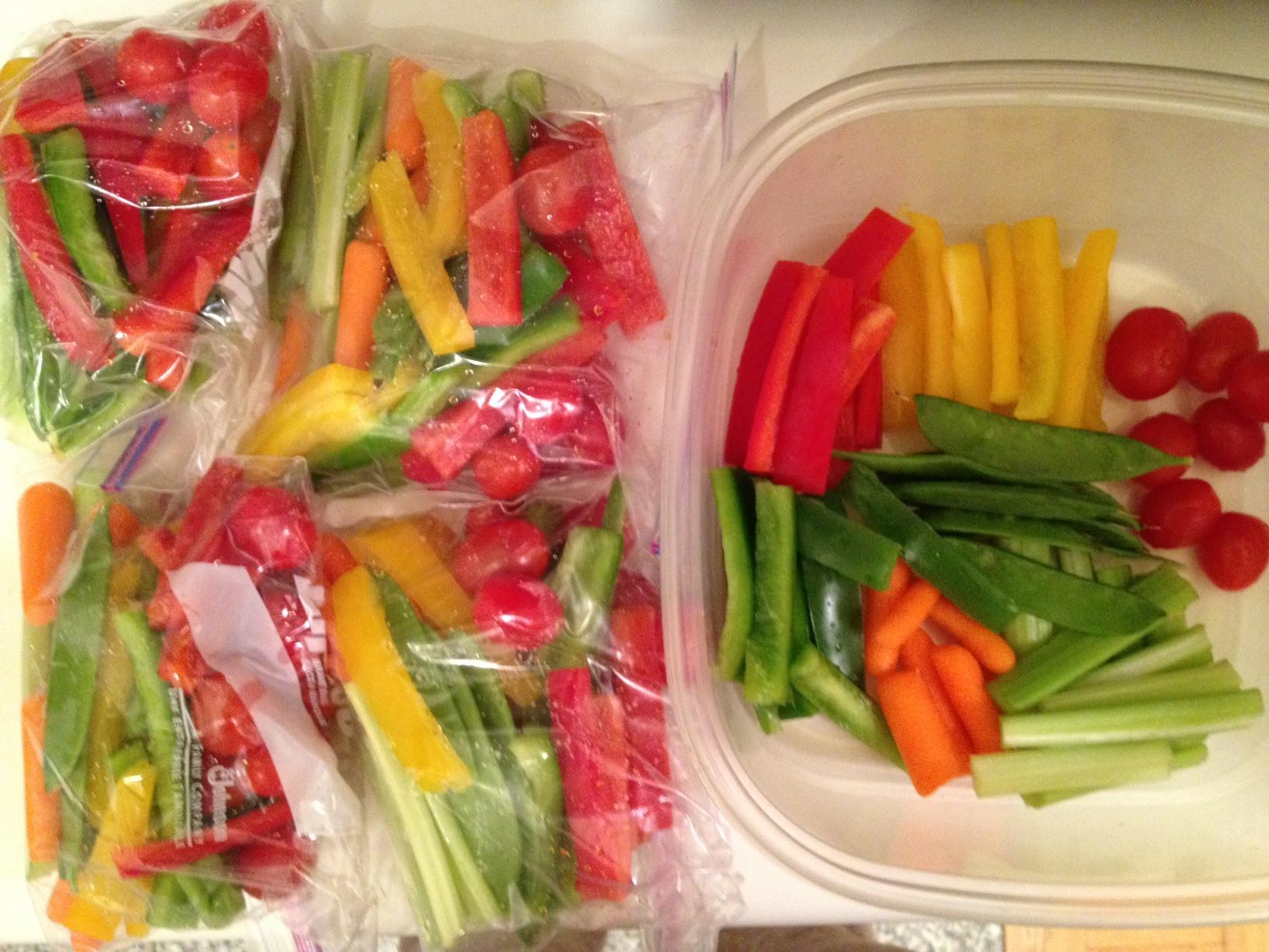 Healthy Vegetable Snacks  snack