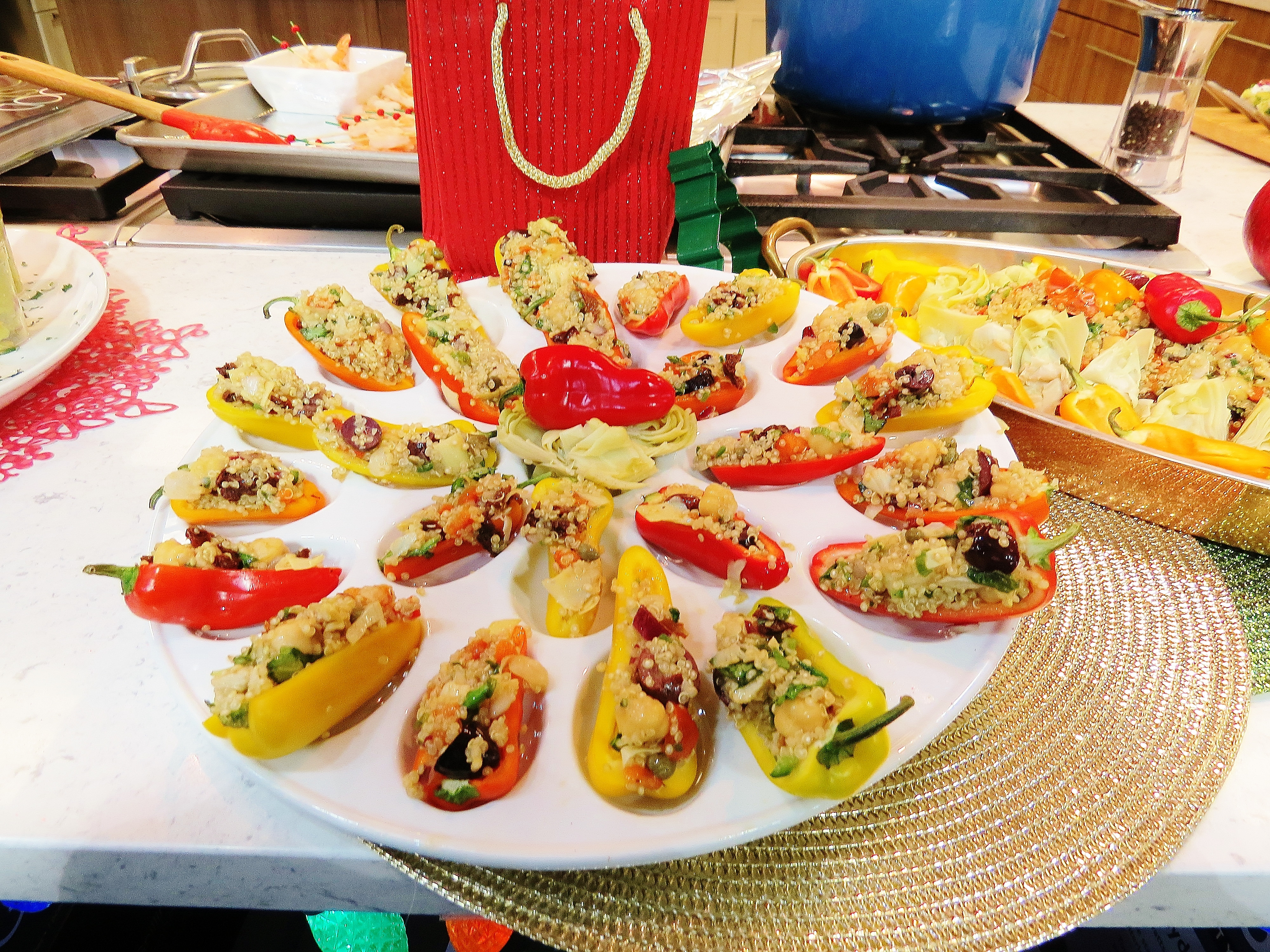 Healthy Vegetarian Appetizers  healthy ve able appetizers