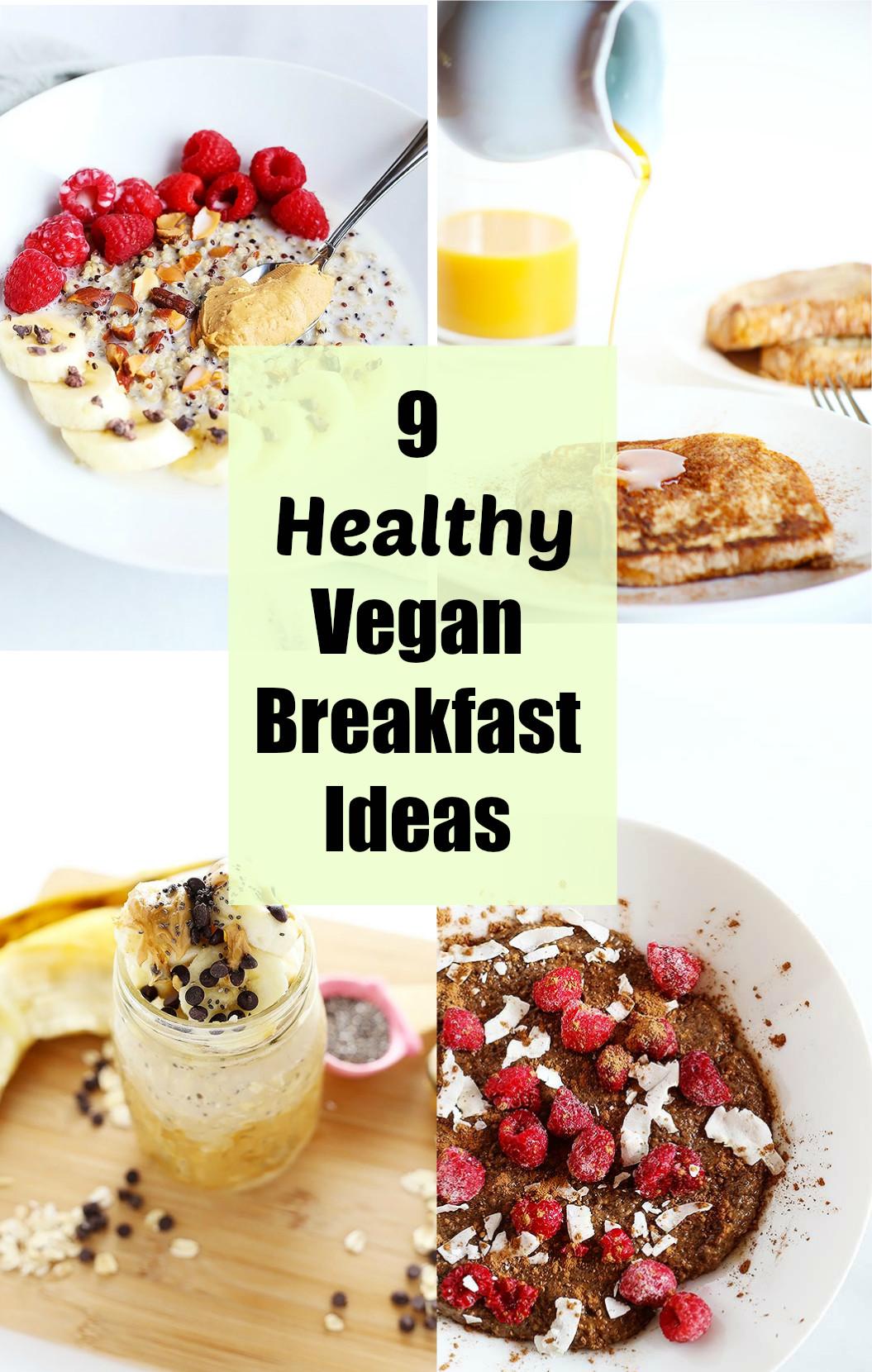 Healthy Vegetarian Breakfast Ideas  9 Healthy Vegan Breakfast Ideas TwoRaspberries