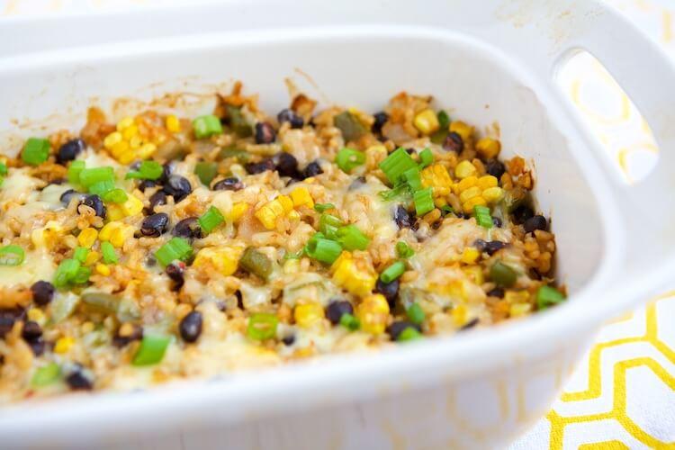 Healthy Vegetarian Casseroles Recipes  Ve arian Rice & Bean Casserole