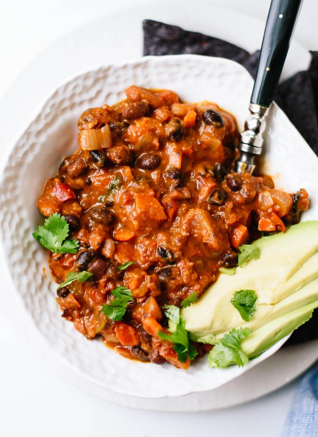 Healthy Vegetarian Chili  Homemade Ve arian Chili Cookie and Kate