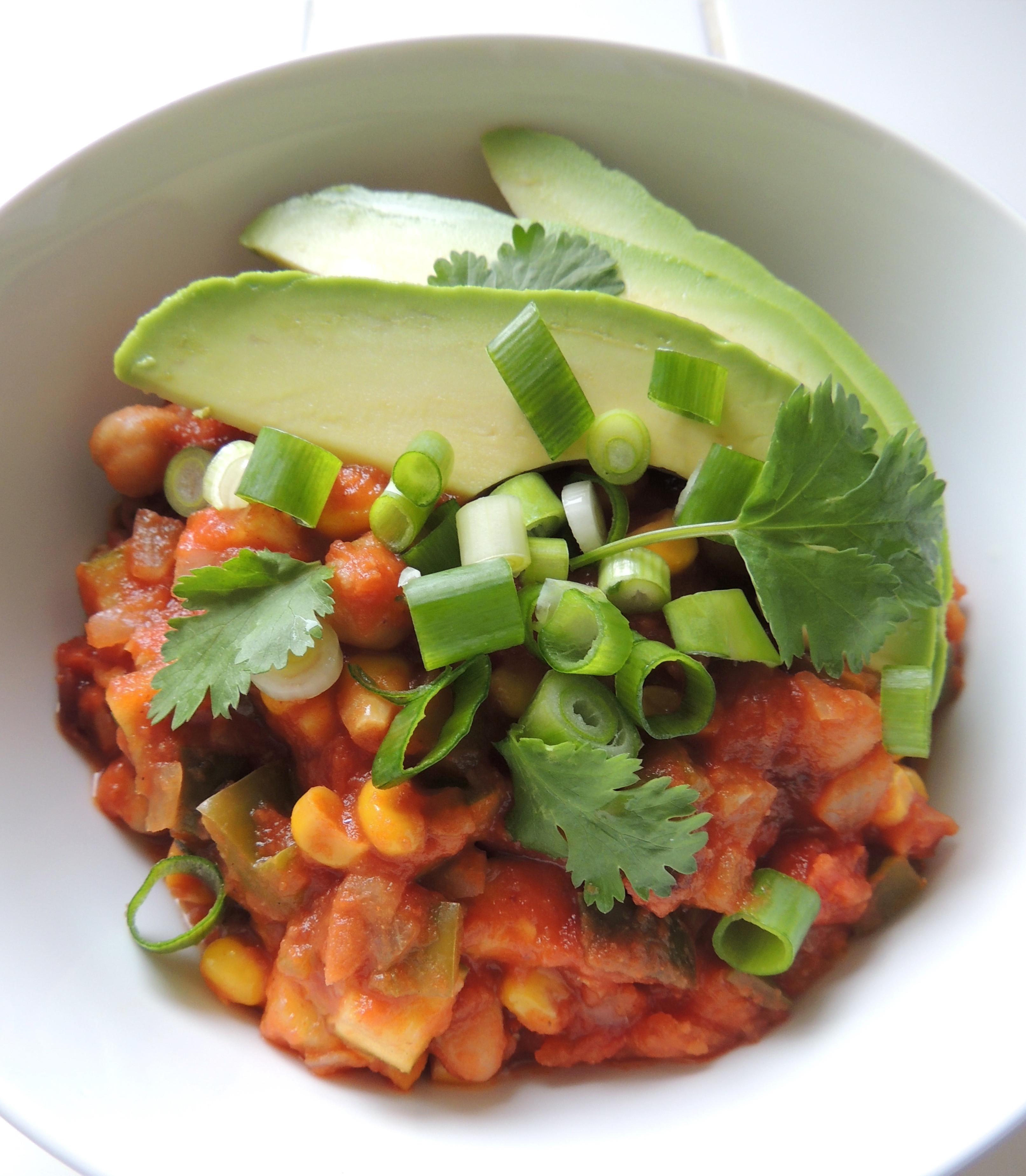 Healthy Vegetarian Chili  Healthy Ve arian Chili BigOven
