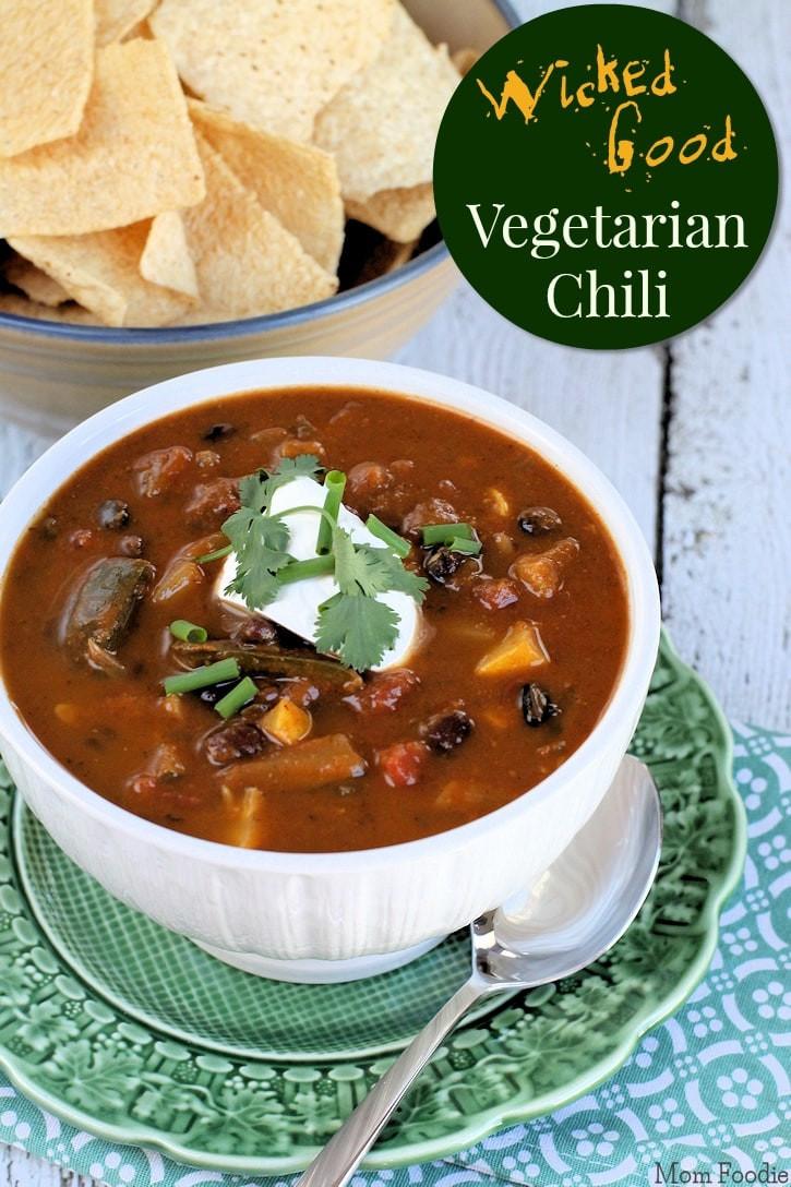 Healthy Vegetarian Chili Recipe  Healthy Ve arian Chili Recipe Vegan and Grain free Too