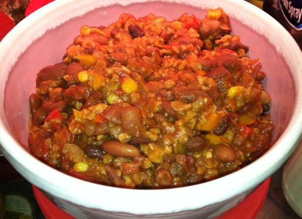 Healthy Vegetarian Chili  Healthy Vegan Chili Recipe Food