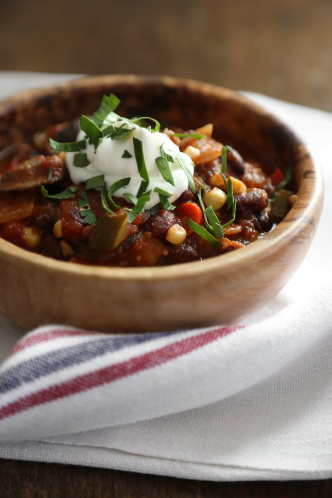 Healthy Vegetarian Chili  Quick and Healthy Recipes