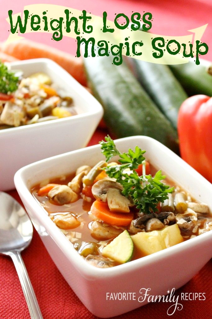 Healthy Vegetarian Dinner Recipes For Weight Loss  Best Weight Loss Soup – Top Fast Healthy Authentic