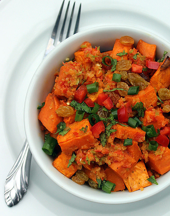 Healthy Vegetarian Dinner Recipes For Weight Loss  Healthy Sweet Potato Salad Recipe