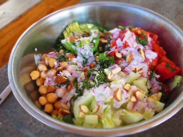 Healthy Vegetarian Dinner Recipes For Weight Loss  Healthy Ve arian Cobb Salad This American Girl