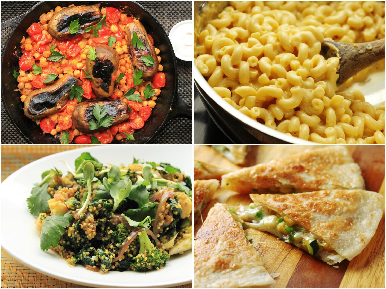 Healthy Vegetarian Dinner Recipes  15 Easy e Pot Ve arian Dinners