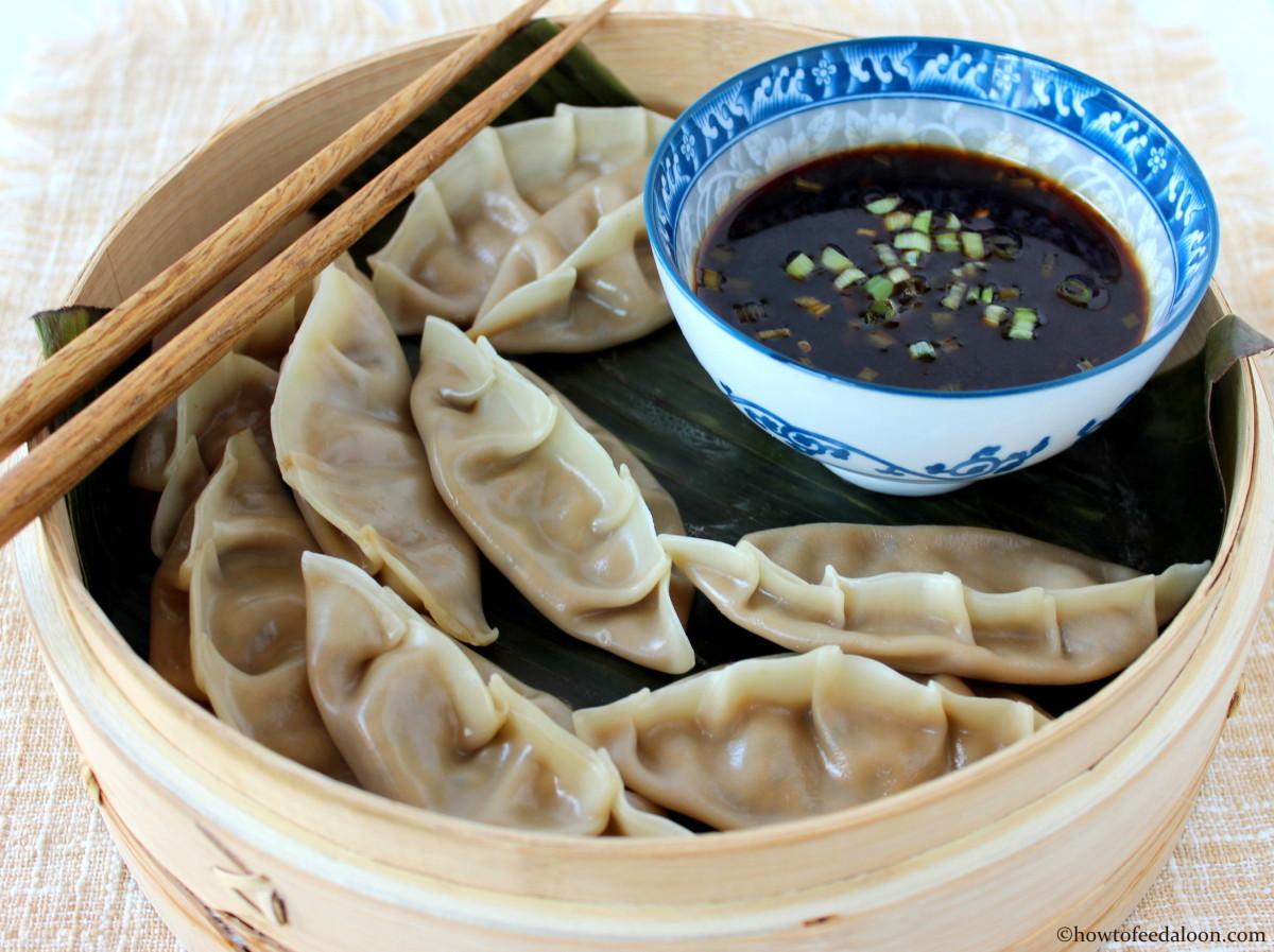 Healthy Vegetarian Dumplings  Ve arian Steamed Dumplings How To Feed A Loon