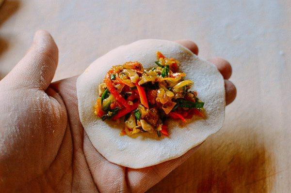 Healthy Vegetarian Dumplings  Ve able Dumplings A Healthy Potsticker Recipe The