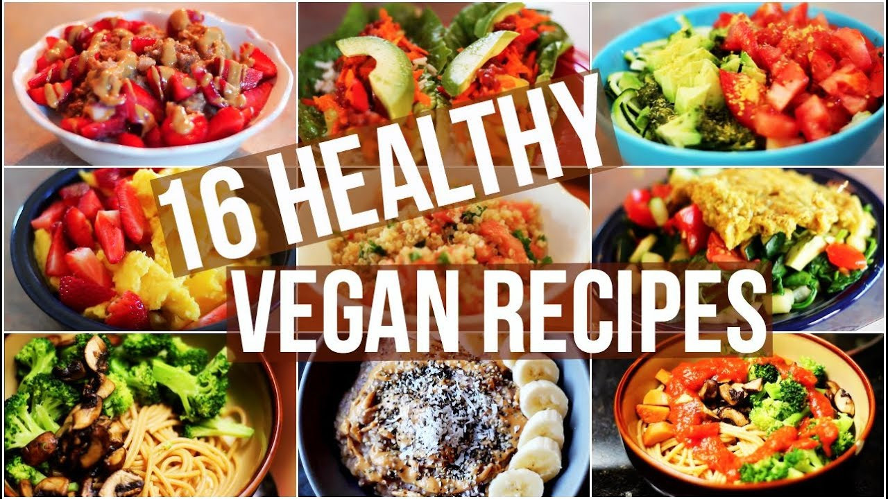 Healthy Vegetarian Food Recipes  My 16 Favourite Healthy Vegan Recipes