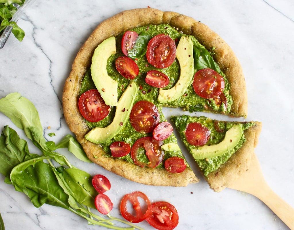Healthy Vegetarian Food Recipes  Healthy Vegan Pizza Recipe