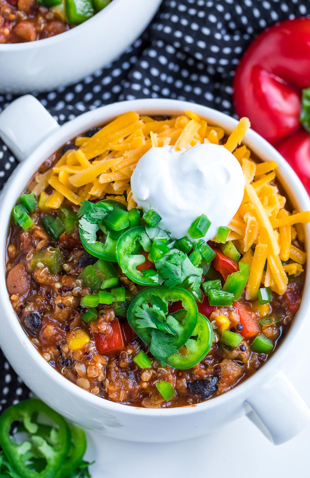 Healthy Vegetarian Instant Pot Recipes top 20 Instant Pot Ve Arian Quinoa Chili Peas and Crayons