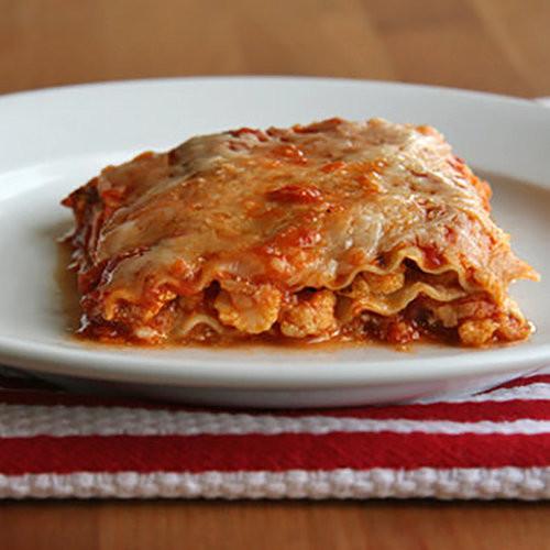 Healthy Vegetarian Lasagna  Healthy Ve able Lasagna Recipe