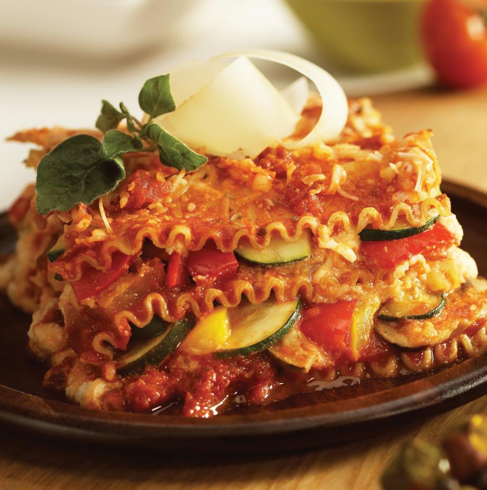 Healthy Vegetarian Lasagna  healthy ve able lasagna