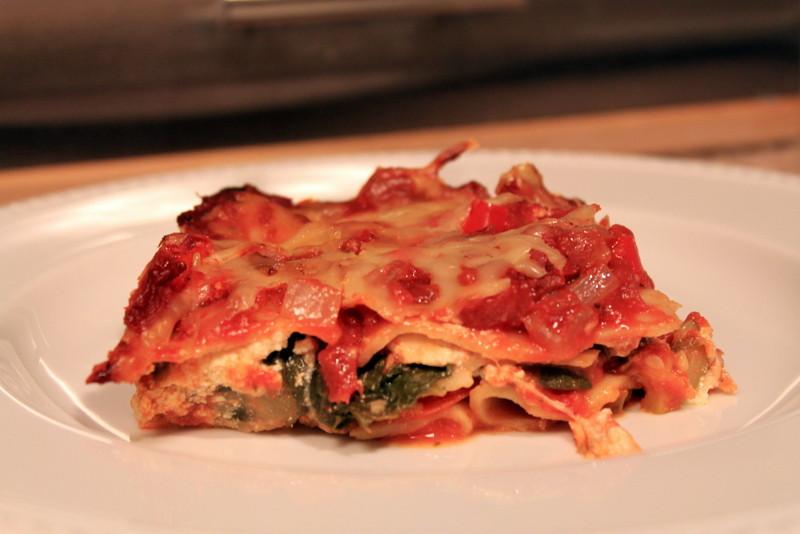 Healthy Vegetarian Lasagna  Hearty Healthy Ve arian Lasagna The Picky Eater