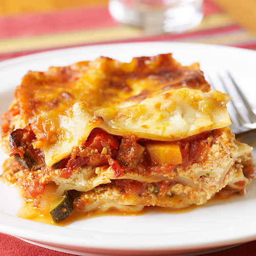 Healthy Vegetarian Lasagna Recipe  Ve able Lasagna Healthy Lasagna Recipes Cooking Light