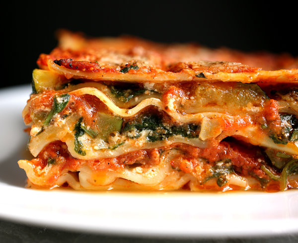 Healthy Vegetarian Lasagna Recipe  healthy ve able lasagna