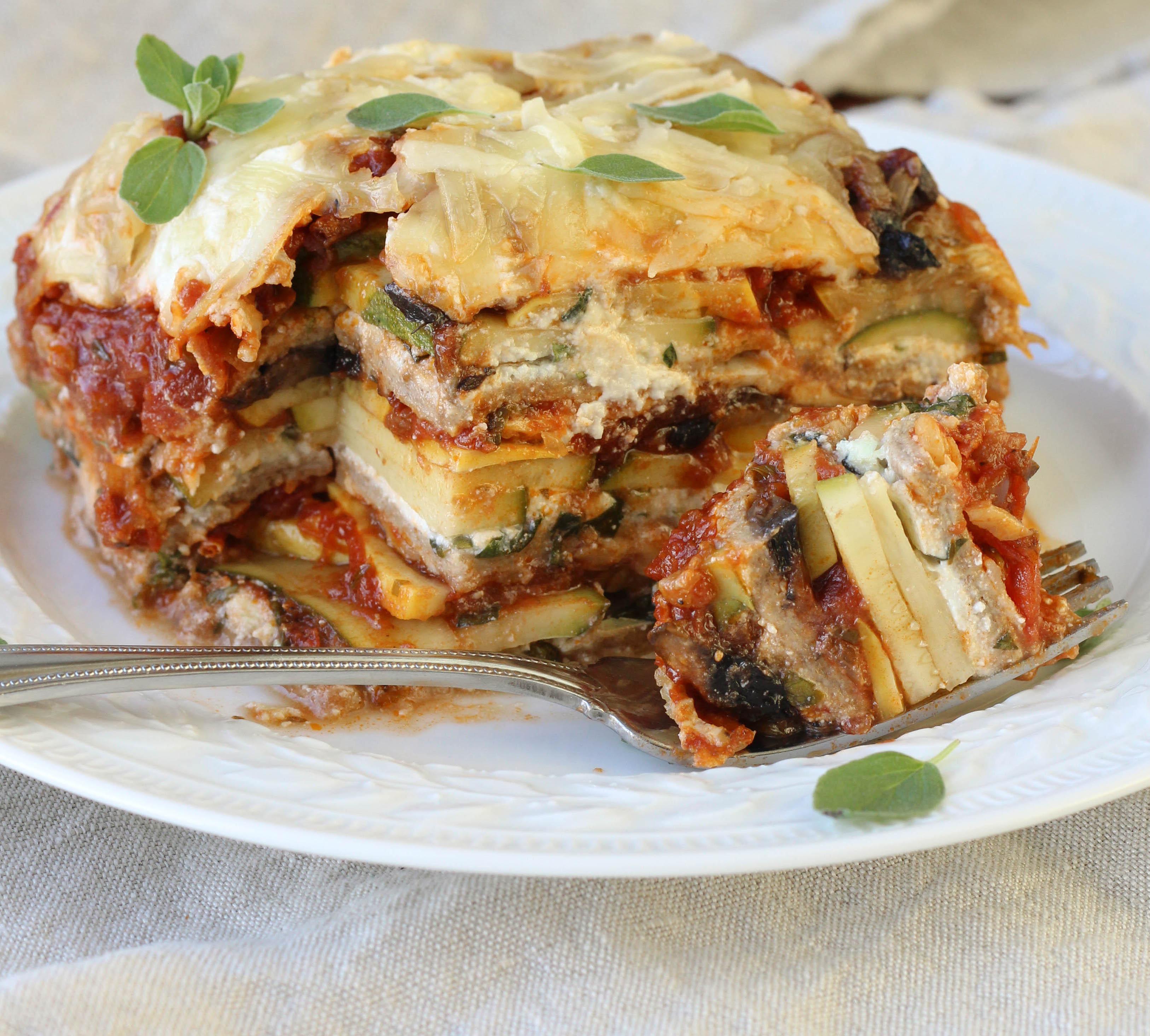 Healthy Vegetarian Lasagna  Whole Wheat Ve able Lasagna American Heritage Cooking