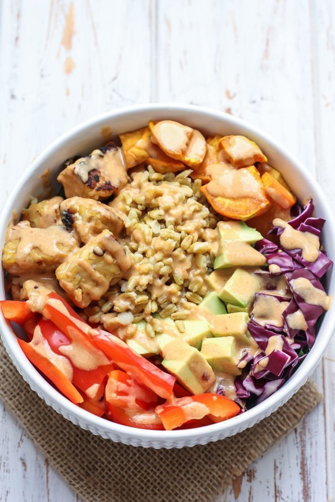 Healthy Vegetarian Lunch Recipes  10 Vegan Lunch Bowls that are Easy to Pack