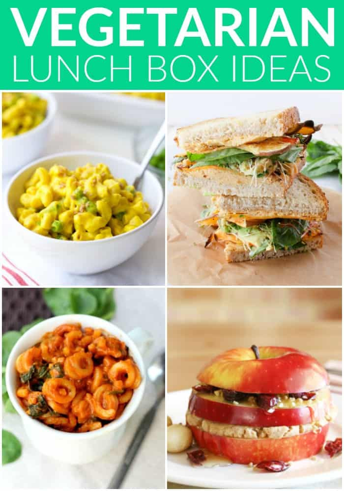 Healthy Vegetarian Lunch Recipes  Healthy Ve arian Lunchbox Ideas Hummusapien