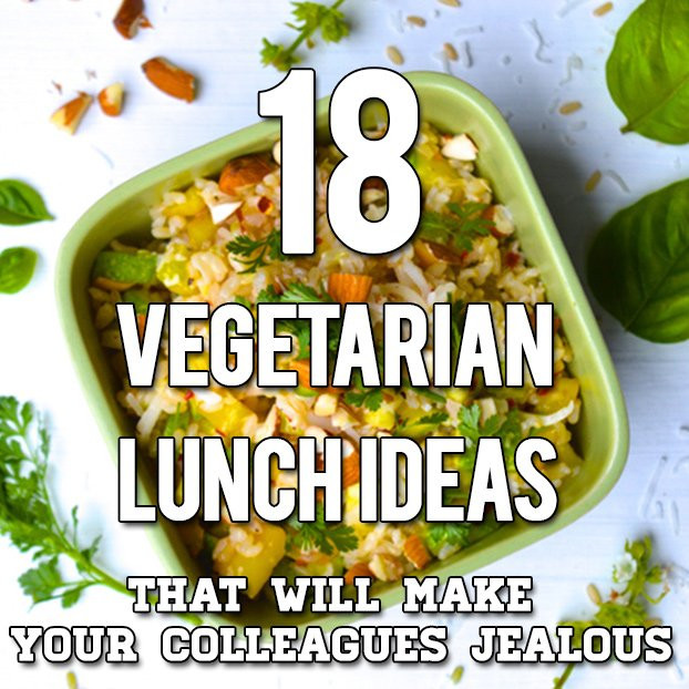 Healthy Vegetarian Lunches  18 Ve arian Lunch Ideas To Pack For Work