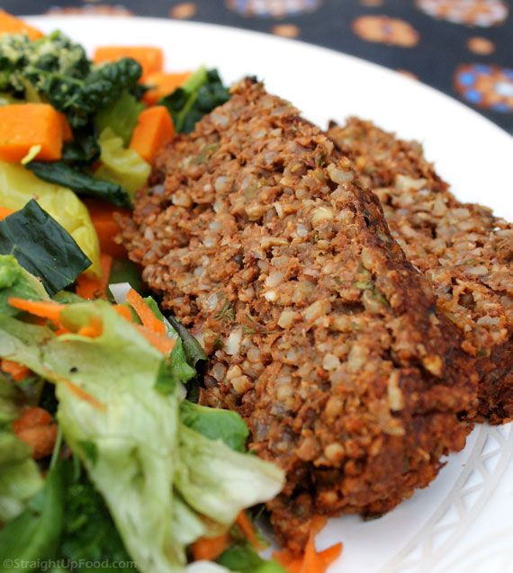 Healthy Vegetarian Main Dishes  Lentil & Rice Loaf This flavorful loaf is perfect for the