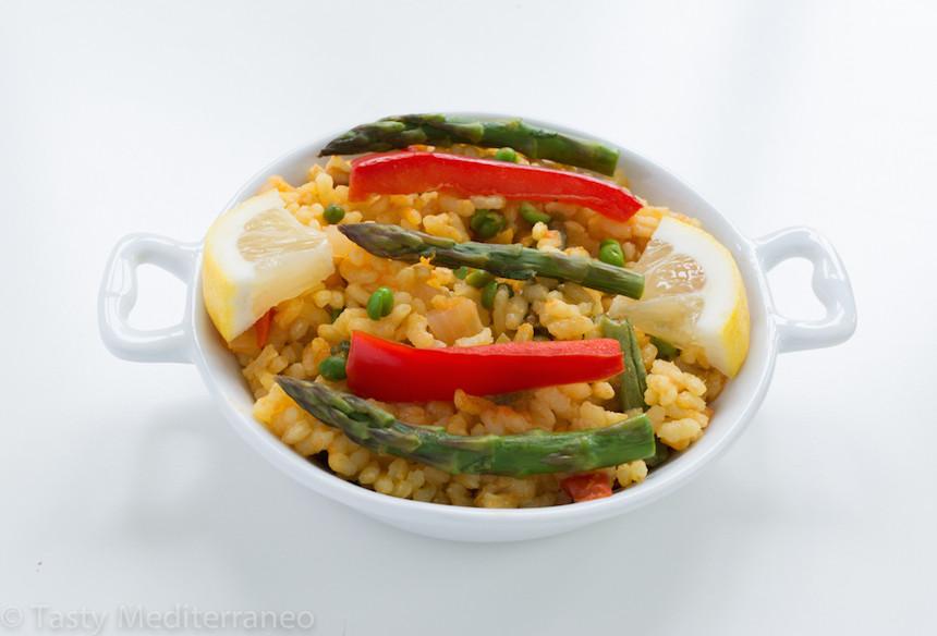 Healthy Vegetarian Main Dishes  Vegan Paella – Tasty Mediterraneo