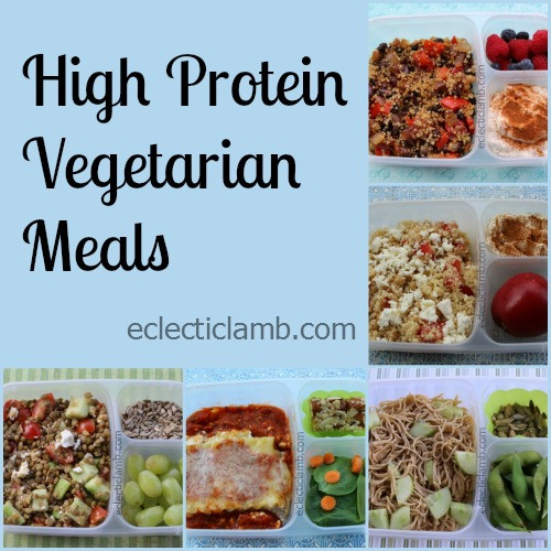 Healthy Vegetarian Meals With Protein  5 High Protein Ve arian Meals