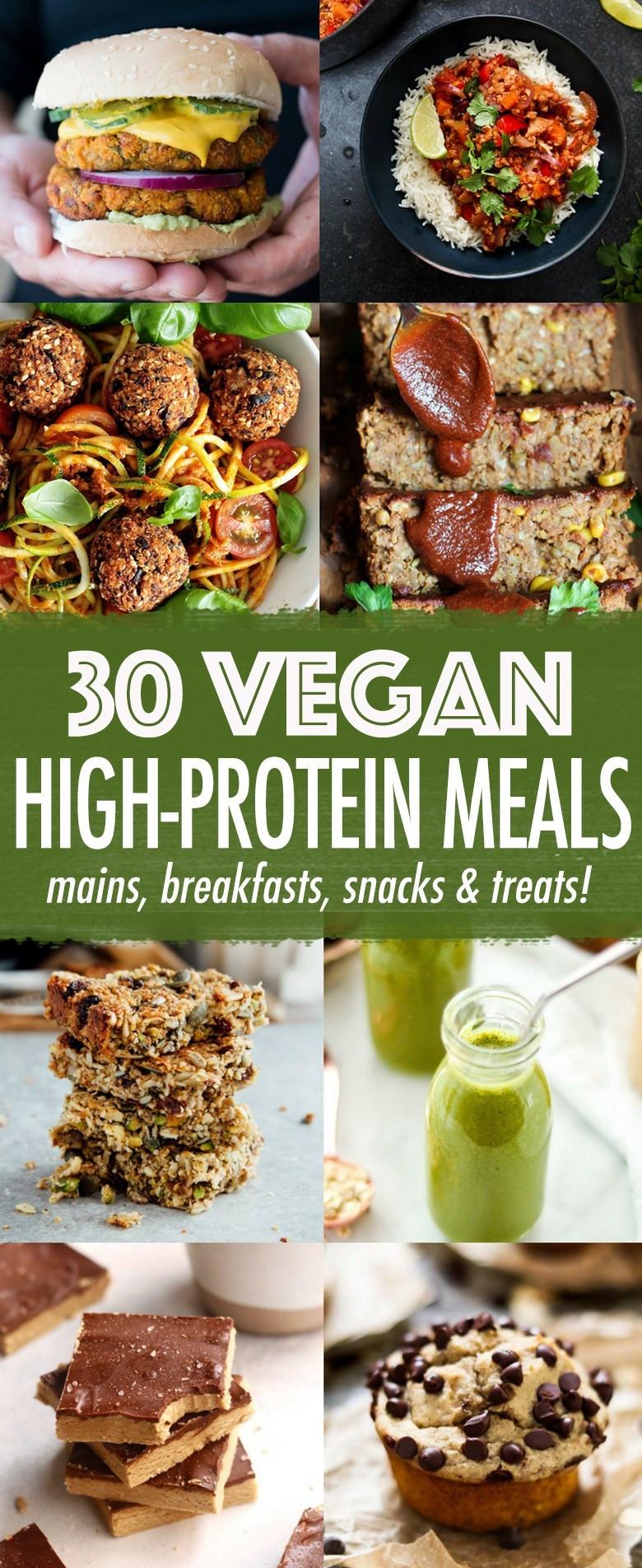 Healthy Vegetarian Meals With Protein  30 High protein Vegan Meals Wallflower Kitchen