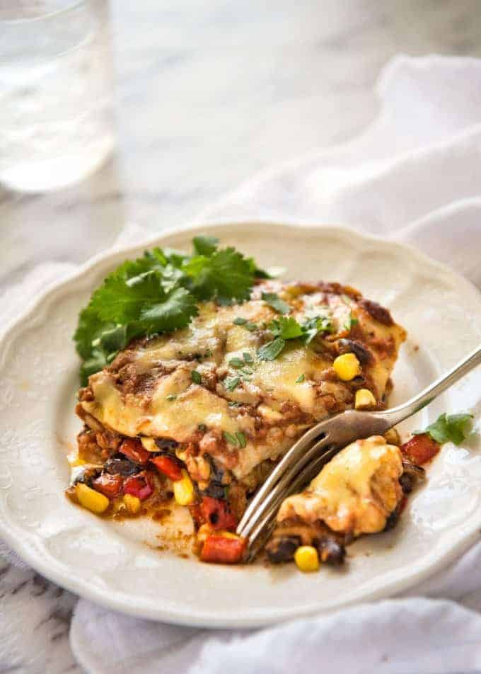 Healthy Vegetarian Mexican Recipes  Ve arian Mexican Lasagna
